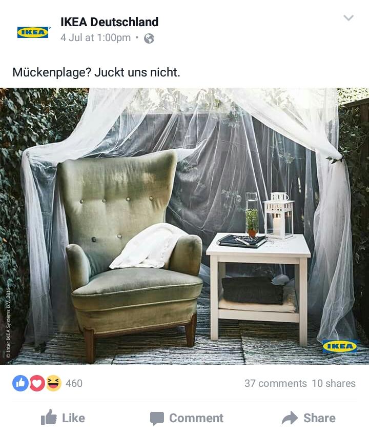 Micro Content Ikea Facebook