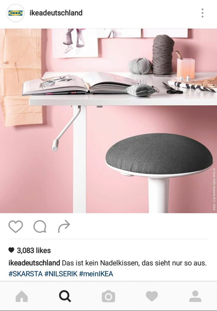 Micro Content Ikea Instagram