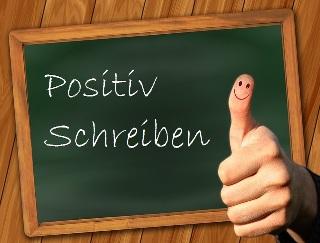 Positiv schreiben
