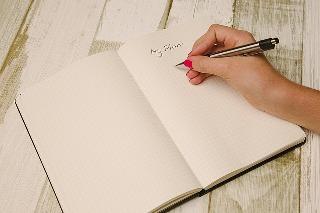 Schreiben beginnen