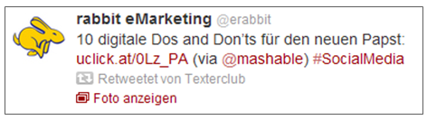 Rabbit Emarketing Twitter