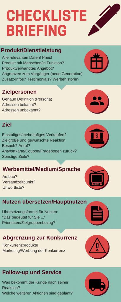 Texter Briefing Checkliste Tipps Für Mehr Struktur