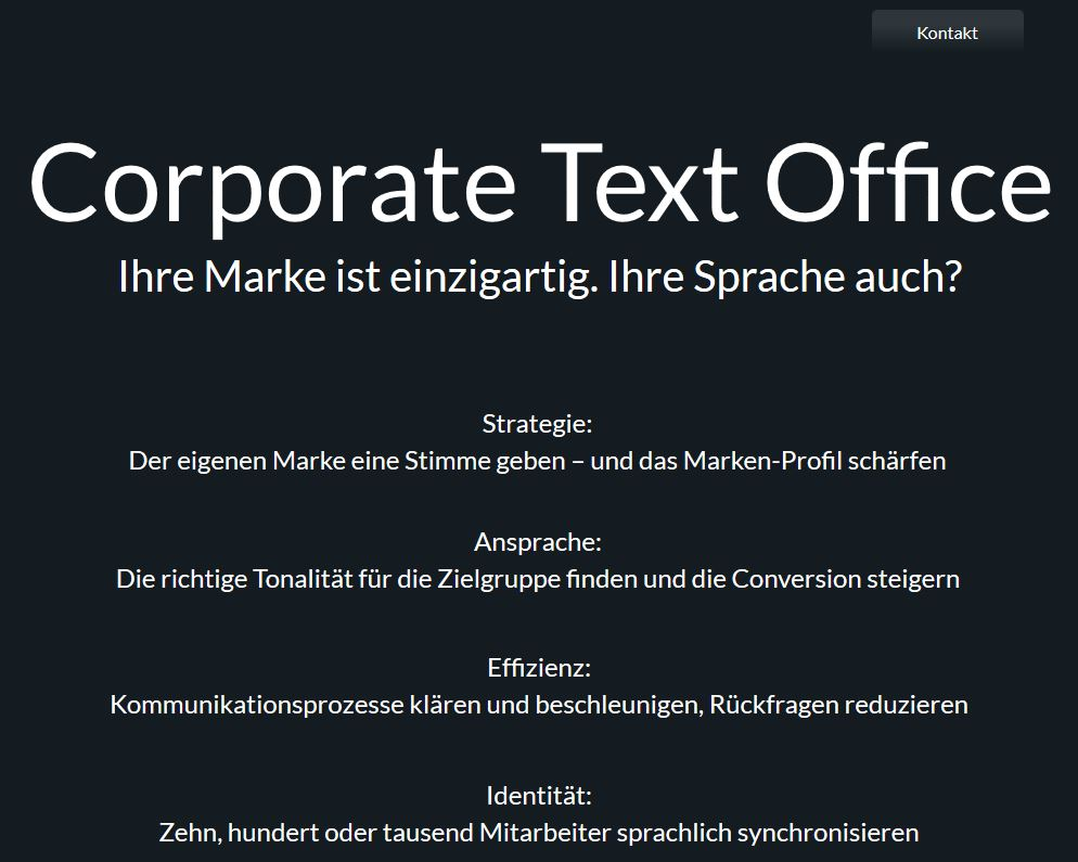 Corporate Text Office